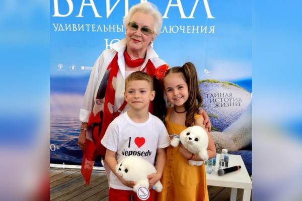 «Непоседы» на презентации проекта «Сказки Байкала»